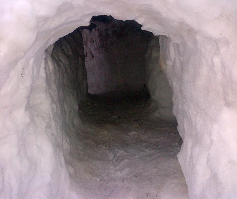 snow-fort